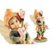 Статуэтка «Девочка - фея» (в оранжевом)