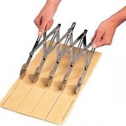 Нож роликовый для теста (7ножей), нерж.