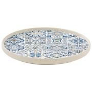 Тарелка обеденная (синяя) CASADECOR без инд.упаковки