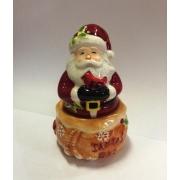 Набор соль/перец 10 см «Веселый Санта»