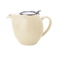 Чайник с ситечком Осло (ванильный) в инд.упаковке