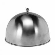 Крышка для тарелки, сталь нерж., D=25,H=5см