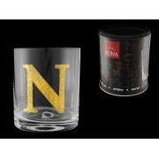 Стакан для виски (1 шт) Азбука Буква «N»