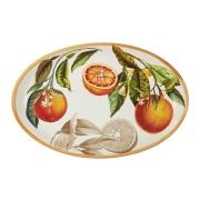 Блюдо овальное Апельсины