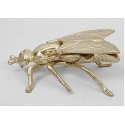 Муха - пепельница золотистый 17х10 см.
