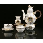 Сервиз чайный на 6перс.17пред «Jules Verne»