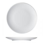 Тарелка мелкая «Опшенс», фарфор, D=20см, белый