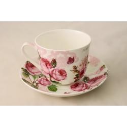 Чашка с блюдцем «Розы» 0,4 л