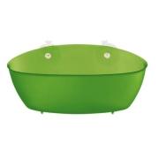 Органайзер/корзина для ванны SPLASH Koziol 95 х 275 х 130мм (прозрачный зеленый)