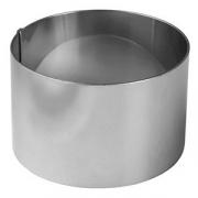 Форма конд. «Круг», сталь, D=70,H=45мм, металлич.
