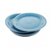 Набор тарелок 27см. 4шт «Романс»