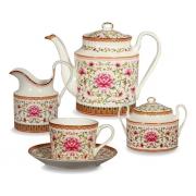 Сервиз чайный, 6 перс, 15 пр, Роза востока