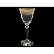 Бокал для вина Гармония, Волна на серебряной полосе