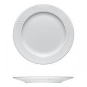 Тарелка мелкая «Карат», фарфор, D=270,H=25мм, белый