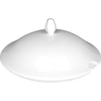 Крышка для супницы «Афродита» фарфор; белый
