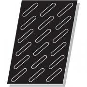 Форма конд. «Эклер» [18шт]; силикон; L=55,B=35см; черный