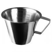 Мерный кувшин «Проотель», сталь, 250мл, D=95,H=75,B=110мм, металлич.