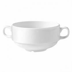 Бульон.чашка «Монако вайт» 285мл фарфор