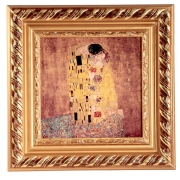 Картина квадратная, 32х32 см, Поцелуй