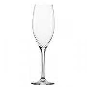 Бокал-флюте «Классик лонг лайф», хр.стекло, 240мл, H=217,B=65мм, прозр.