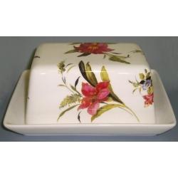 Масленка «Букет цветов» Диаметр 17 см