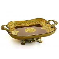 Декоративная ваза для фруктов 43х22х13 см «Брабант»