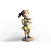Статуэтка «Девочка с собачкой»