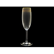 Бокал для шампанского Золотая коллекция, тонкое золото