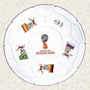 Тарелка для пиццы «Футбол» «Фут Пати ЧМ» D=31см