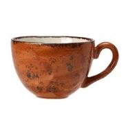 Чашка чайная «Крафт», фарфор, 450мл, D=12,H=8,L=15см, терракот