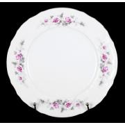 Набор тарелок 25 см. 6 шт «Роза серая платина 5396021»