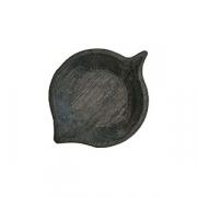 Блюдо «Ольха» темный дуб