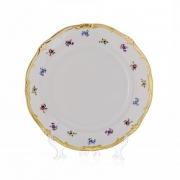 Набор тарелок 24 см. 6 шт. «Мейсенский цветок»