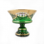 Ваза «Лепка зеленая 5365» 28 см.