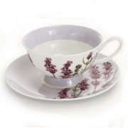 Пара чайная, 1 перс, 2 пр, Лаванда
