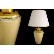 Настольная лампа с абажуром «Нью-Йорк»