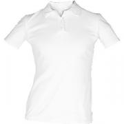 Рубашка поло женская, размер 42 хлопок; белый