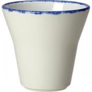 Салатник «Блю дэппл» D=9см; белый, синий