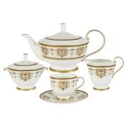Чайный сервиз из 17 предметов на 6 персон Тиара Голд