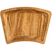 Тарелка «Дуга» светлый дуб