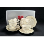 Чайный набор Pavone Grey на 6 персон 12 предметов