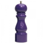 Мельница для соли, бук, H=20см, фиолет.