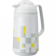 Японский термос «Модерн Белый» 1 литр со стеклянной колбой