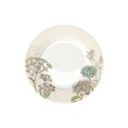 Тарелка Ботаника (бел-бежевая) без инд.упаковки