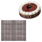 Бордюр для торта «Венецианский», силикон, B=4см