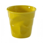 Стаканчик для эспрессо «Фруассэ», фарфор, 80мл, D=65,H=60мм, желт.