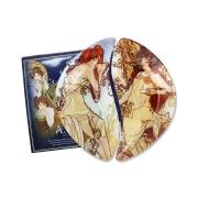 Набор из 2-х тарелок Лето/Осень (А. Муха)