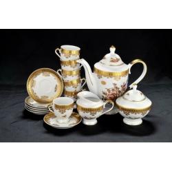 Сервиз кофейный Oro Antico на 6 персон 15 предметов