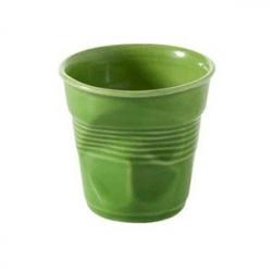 Стаканчик для эспрессо «Фруассэ», фарфор, 80мл, D=65,H=60мм, зелен.