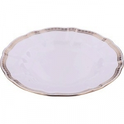 Тарелка мелкая D=27, H=2.5см